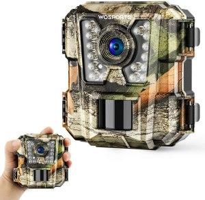 Wosports mini trail camera, bird feeder cameras