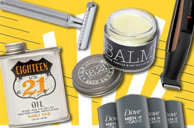 mens shaving products