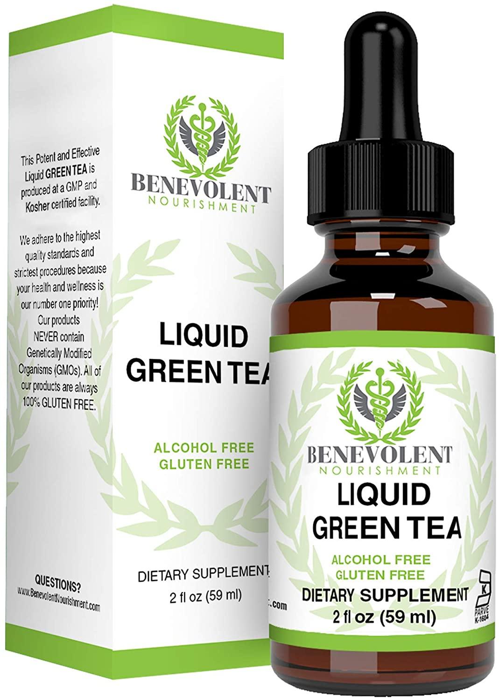 benevolent nourishment green tea