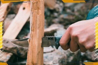SOG Knives Pillar Bushcraft Knife