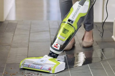 electric mops actively clean floors, producing outstanding results while saving your time and energy