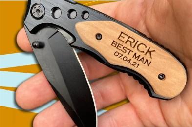 Custom Engraved Pocket Knife