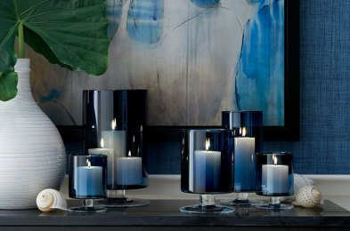transform plain old candles into decorative ornaments with these classy holders