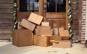 holiday package delivery