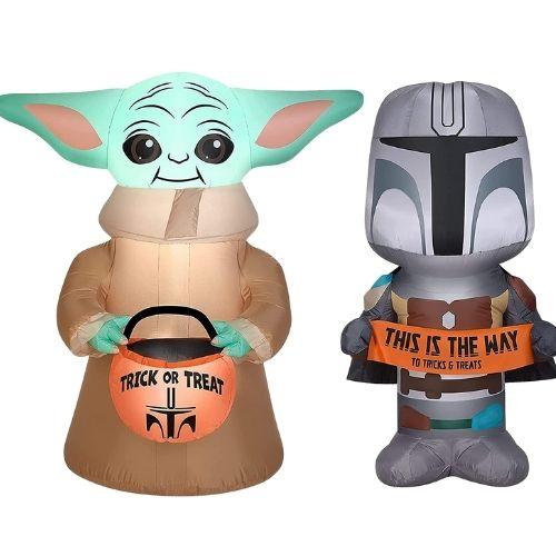 Star Wars The Mandalorian Halloween Air Blown Inflatable