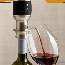 Crate & Barrel Aervana Electric Wine Aerator