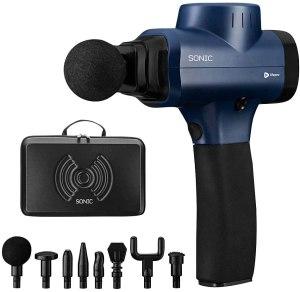 sonic handheld massage gun, best massage guns on Amazon