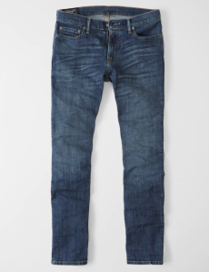 stretch jeans Abercrombie & Fitch